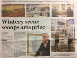 Chorley Winter wins people's choice award - Art for the Workplace