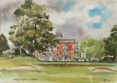 Shaw Hill Golf Club painting